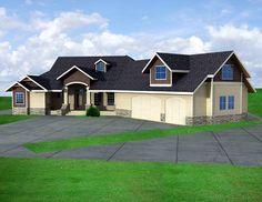 Ranch House Plan 87239