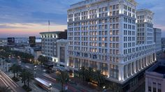 The Ritz-Carlton, New Orleans by night