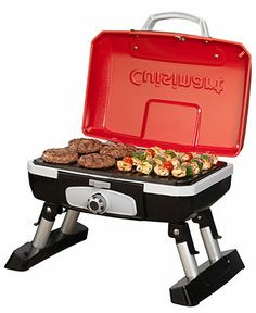 Cuisinart CGG-180T Tabletop Gas Grill, Petit Gourmet - Electrics - Kitchen - Macy's Bridal and Wedding Registry. For tailgates! That'll make someone happy... ;) #macysdreamregistry