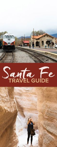 Looking for things to do in Santa Fe, New Mexico? Here are the best restaurants, Santa Fe hiking, Tent Rocks and Bandelier national monuments, and more. New Mexico Road Trip, New Mexico Vacation, Travel New Mexico, Vacation Spots, Tennessee Vacation, Beach Vacations, Camping Places, Places To Travel, Travel Destinations