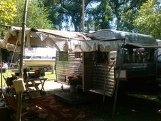 Doiley and burlap awning