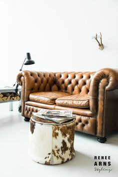 True confession time ~ I've been drooling over a classic chesterfield for a very long time.  In my quest, I've been searching high and...