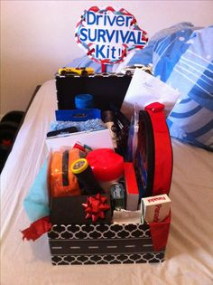 Gift Box For New Drivers Packed With Cleaning Stuffcar