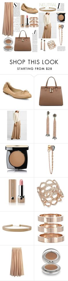 """neutral II"" by lillybluemoon on Polyvore featuring L.K.Bennett, Dolce&Gabbana, The Row, BaubleBar, Chanel, Celine Daoust, Marc Jacobs, INC International Concepts, Humble Chic and Repossi"