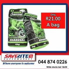 It might be too cold to have a braai, but our Green Charcoal makes the ideal fireplace fuel for cold winter nights. Selling at only from Saverite Supermarket York Street. Special Of The Day, York Street, Winter Warmers, Winter Night, Charcoal, Green, How To Make, Cold, Store