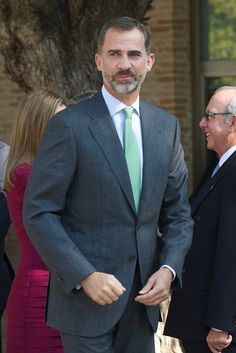King Felipe VI of Spain attends the opening of the University Year at the Fabrica de Armas Campus on September 30, 2014 in Toledo, Spain.