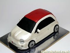 Fiat 500 3D Birthday Cake, London http://www.pinkcakeland.co.uk