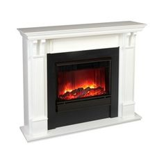 Real Flame Ashley 4' Electric Fireplace