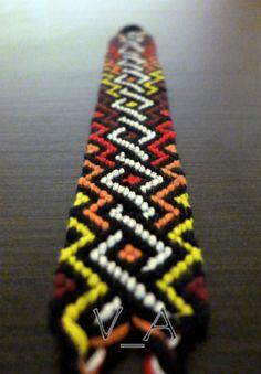 Photo of #67536 by ViscumAlbum - friendship-bracelets.net
