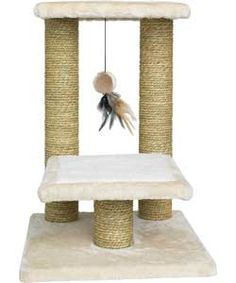 Buy Tall, Two-Tier Cat Scratching Post at Argos.co.uk, visit Argos.co.uk to shop online for Cat furniture and scratchers