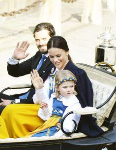 royalwatcher:  Swedish National Day, June 6, 2015-Prince Carl Philip, Sofia Hellqvist and Princess Estelle