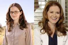 Then and Now: The Cast of 'Grey's Anatomy' - Previously known for playing Hannah Rogers on Everwood and voicing Stacy Rowe on Daria, Sarah Drew had already appeared in many projects before she joined Grey's in 2009 as Dr. April Kepner. Drew has appeared on other TV shows, including Castle, Glee, Supernatural, and Mad Men. She recently starred in the 2014 movie Moms' Night Out.