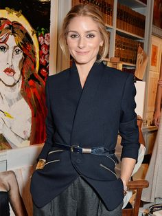 Olivia Palermo has collaborated with a fashion house, find out who.