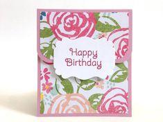 Gift Card Holder for Her - Birthday Gift Card Holder - Money Envelope - Birthday Money Card - Floral Birthday Card Carrier - Cash Card