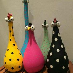 Cement, voda a piesok – táto zmes nemusí slúžiť len na bet Paper Mache Crafts, Clay Crafts, Diy And Crafts, Crafts For Kids, Arts And Crafts, Cement Art, Concrete Crafts, Paint Concrete, Chicken Crafts