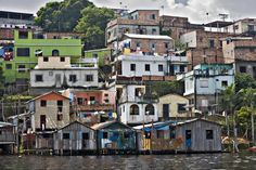 Manaus - the gateway to the Amazon Rainforest.