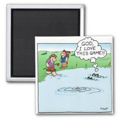 Love This Game magnet (from a page of golf pranks)