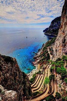 Capri, Campania, Italy.                           I've been there!  #VisitingItaly