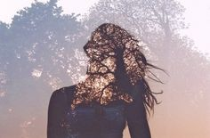 work of student photographer Olivier Moriss. Shooting with a 35mm camera, Moriss' uses great double exposure composition, layering silhouettes with landscapes. The result is stunning!