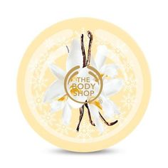 The Body Shop Vanilla Bliss Body Butter with vanilla extract and Community Fair Trade cocoa butter for all skin types 200ml