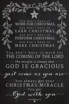 Something to think about at Christmas.