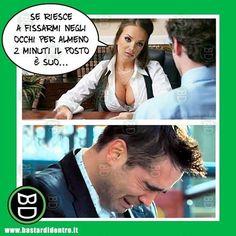 Come è andato il #colloquio ? #bastardidentro #lavoro www.bastardidentro.it