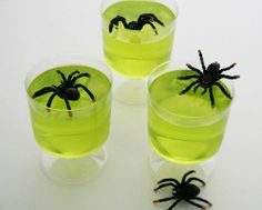 Lime green jelly makes for a spooktacular Halloween recipe. Enter your food & drink creation https://realfood.tesco.com/win.html for a chance to win a hamper of goodies today! T&Cs apply.