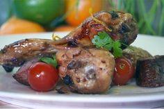 Kipdrumsticks met chorizo en mandarijn - Recept | 24Kitchen
