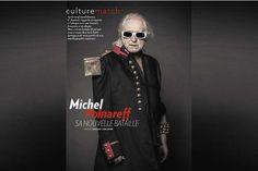 Michel Polnareff pose pour Paris Match- Photo : Renaud Corlouër - Accessoires : Gavilane Paris