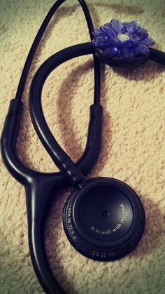 My new stethoscope. Love the engraving!