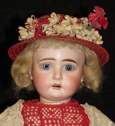 "19"" A.M. 2000 - Rare Doll, Fine Bisque - Faraway Antique Shop #dollshopsunited  http://www.dollshopsunited.com/stores/faraway/items/1330768/19-AM-2000-Rare-Doll-Fine-Bisque"