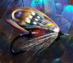 My new obsession-fly fishing. These flies are beautiful! #fishingflies #claudiodangelo #fishing