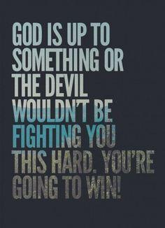 Winning with God!!