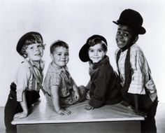 Butch, Spanky, Scotty and Stymie - The Little Rascals