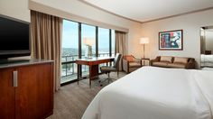 The Westin Seattle  - Deluxe King Room with Water View