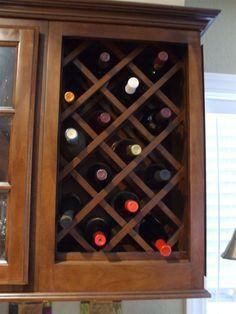 Built In Criss Cross Wine Rack Google Search Diy Wine Rack