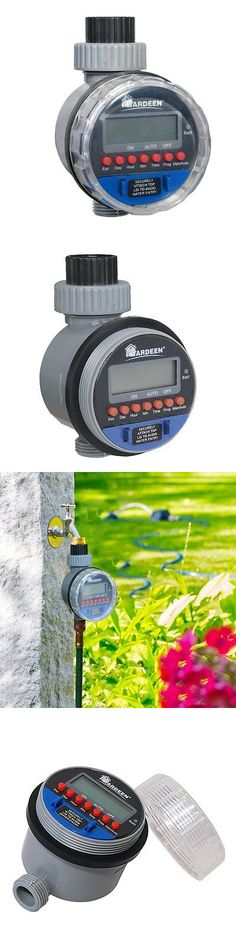 Watering Timers and Controllers 75672: Yardeen Electronic Water Timer Garden Irrigation Controller Digital Intelligence -> BUY IT NOW ONLY: $41.73 on eBay!