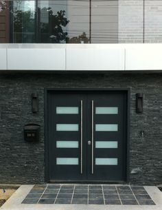 Exterior Door Milano-14 Combo. Photo