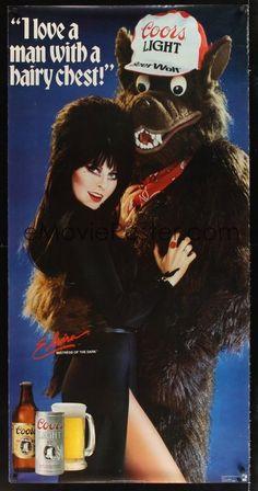 Elvira, Mistress of the Dark for Coors Light, c1986