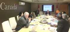 Participated in the citizenship study guide roundtable with Yukon MP | Photos by: Larry Bagnell