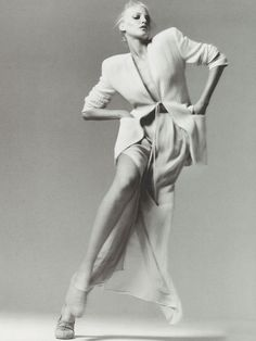 Nadja Auermann by Richard Avedon, 1994 Neiman Marcus Catalog