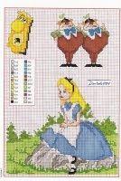 Tita Carré - Knitting Needle and by Tita Carré: Cross Stitch - Disney