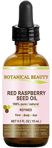 Red Raspberry Seed Oil is light and is quickly absorbed into the skin. It consists of up to 85% essential fatty acids and is especially high in the essential fatty acids linoleic acid and alpha-linole...