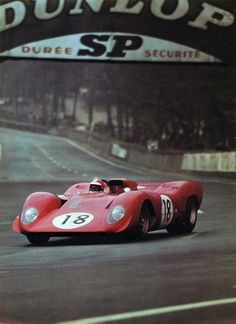 Le Mans 1969 - Test Ferrari 312 P #0870 - Ferrari 312 V12/60° 4v 2989 cc N/A P3.0 SpA Ferrari SEFAC (I) Open bodywork Mid-engined Driven by: Chris Amon (NZ)/Ernesto Brambilla (I) Result: 5th