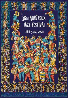 Montreux 2002 Artwork by Richard James North