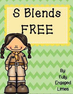 Engage your students with these fun S blend activity pages! They work great for centers, morning work, or homework! SC blend cards, ABC order, graph, short story, and color by S blend.
