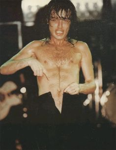 Angus Young strip