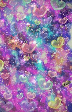Wallpaper...By Artist Unknown... Heart Wallpaper, Butterfly Wallpaper, Love Wallpaper, Cellphone Wallpaper, Galaxy Wallpaper, Iphone Wallpaper, Cool Backgrounds Wallpapers, Pretty Backgrounds, Aesthetic Wallpapers