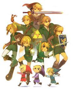 Tous les Link The Legend Of Zelda, Twilight Princess, Game Character, Character Design, Image Zelda, Princesa Zelda, Illustration Photo, Pokemon, Fanart