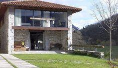 Dream Home Design, Home Design Plans, House Design, Contemporary House Plans, Stone Houses, Country Life, Exterior Design, Tiny House, Cottage